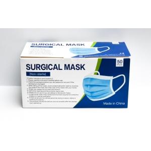 Mondmaskers - chirurgisch - gekeurd! - blauw - per doos