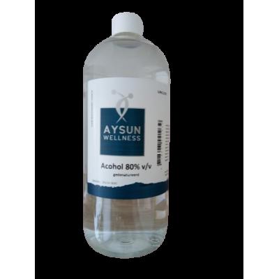 Alcohol 80 % - Aysun - 1 liter
