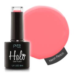 Halo Gelpolish Neon Peach 8 ml