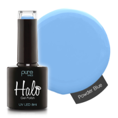 Halo Gelpolish Powder Blue 8 ml
