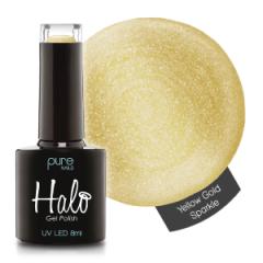 Halo Gelpolish Yellow Gold Sparkle 8 ml