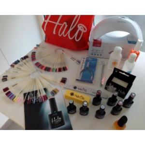 Startpakket  Pure Nails Halo Gel Polish Pro met UV/LED lamp