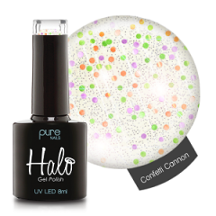 Halo Gelpolish Confetti Cannon 8 ml