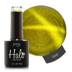 Halo Gelpolish Gold 8 ml (Cat Eye Polish)
