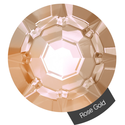 Halo Create - Crystals Rose Gold size 2, 288s