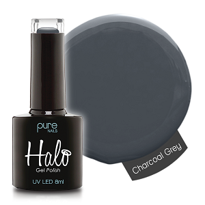 Halo Gelpolish Charcoal Grey 8 ml